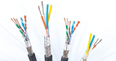 Wire and cable shielding line