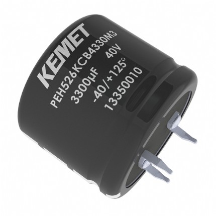 基美KEMET铝电解电容器钎焊型 ​​​​​​Snap-In & Solder Pin​​ Aluminum Electrolytic Capacitors